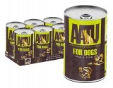 AATU for Dogs - Duck & Turkey konz. 400g - akce 3+1 ZDARMA