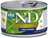 N&D DOG PRIME Adult Lamb & Blueberry Mini 140g - akce 1+1ZDARMA