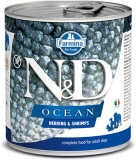 N&D DOG OCEAN Adult Herring & Shrimps 285g - akce 1+1ZDARMA