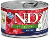 N&D DOG QUINOA Digestion Lamb & Fennel Mini 140g - akce 1+1ZDARMA