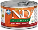 N&D DOG PUMPKIN Adult Chicken & Pomegranate Mini 140g - akce 1+1ZDARMA