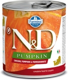 N&D DOG PUMPKIN Puppy Chicken & Pomegranate 285g - akce 1+1ZDARMA
