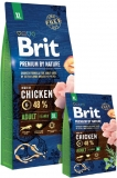 Brit Premium by Nature Adult XL 15kg + Sausage ZDARMA!