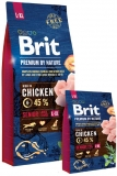 Brit Premium by Nature Senior L+XL 15kg + Sausage ZDARMA!