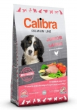 Calibra dog Premium Line JUNIOR LARGE 12kg +3kg ZDARMA!