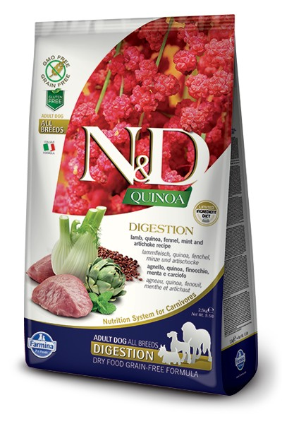 N&D GF Quinoa DOG Digestion Lamb & Fennel 7g