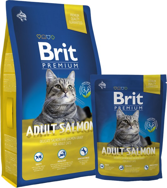 Brit Premium Cat Adult Salmon - 300g