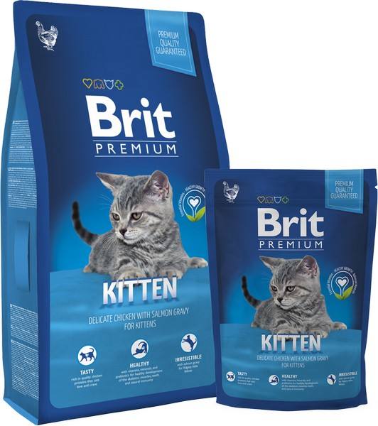 Brit Premium Cat Kitten - 8kg