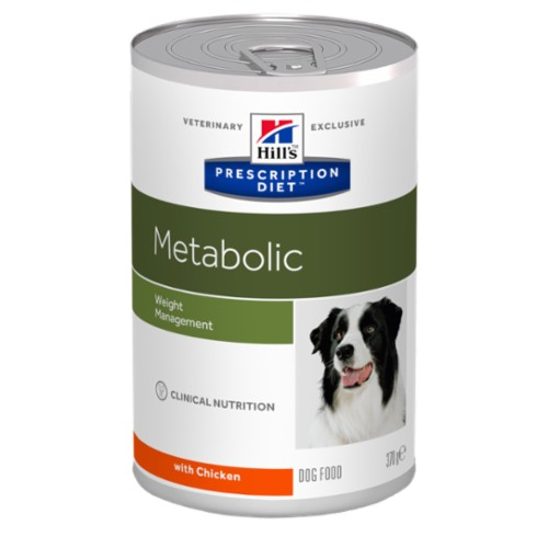 Hills Canine Dry Adult Metabolic konzerva 370g