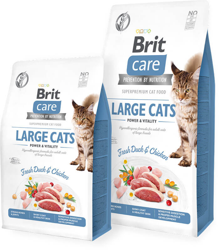 Brit Care Cat GF Large Cats Power and Vitality 7kg