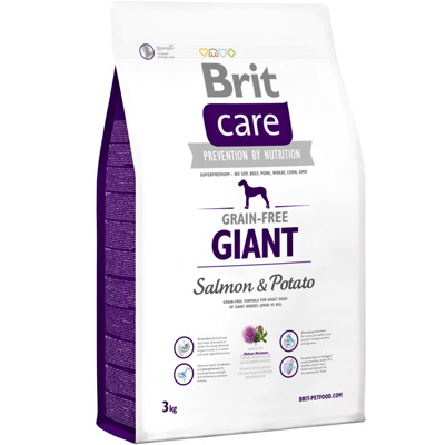 Brit Care Grain-free Giant Salmon & Potato 3kg