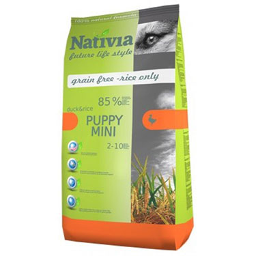 Nativia Dog Puppy mini 3kg