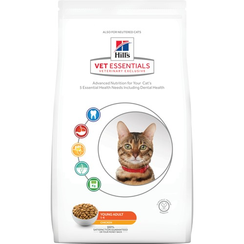 Hill's Feline VetEssentials Dry Young Adult 1,5kg