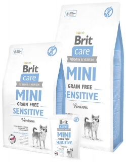 Brit Care Mini Sensitive Grain Free 400g