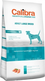 Calibra Dog HA Adult Large Breed Chicken 14kg - akce 3+1 ZDARMA