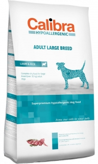 Calibra Dog HA Adult Large Breed Lamb 3kg - akce 3+1 ZDARMA
