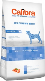 Calibra Dog HA Adult Medium Breed Chicken 3kg - akce 3+1 ZDARMA