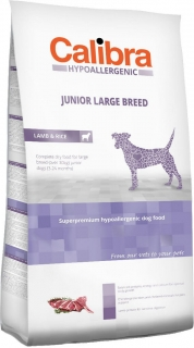 Calibra Dog HA Junior Large Breed Lamb 3kg - akce 3+1 ZDARMA