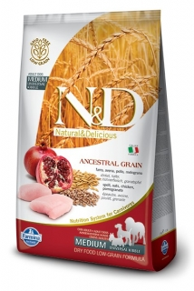 N&D LG DOG Adult Chicken & Pomegranate 2,5kg
