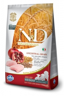 N&D LG DOG Puppy Chicken & Pomegranate 2,5kg