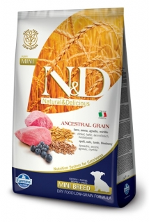 N&D LG DOG Puppy Mini Lamb & Blueberry 7kg