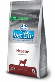 Vet Life Natural DOG Hepatic 2kg
