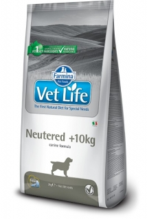 Vet Life Natural Dog Neutered nad10kg 2kg