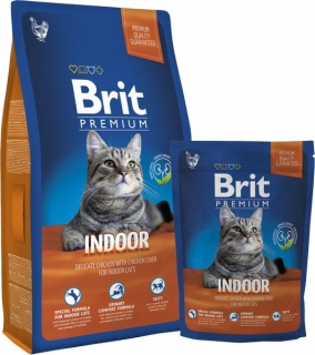 Brit Premium Cat Indoor - 8kg