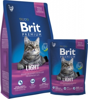 Brit Premium Cat Light - 8kg