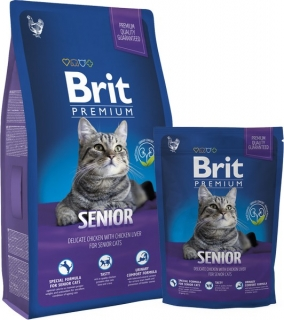 Brit Premium Cat Senior - 300g