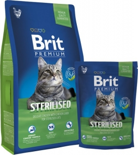 Brit Premium Cat Sterilised - 800g