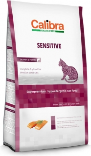 Calibra Cat GF Sensitive Salmon 7kg + 2kg ZDARMA