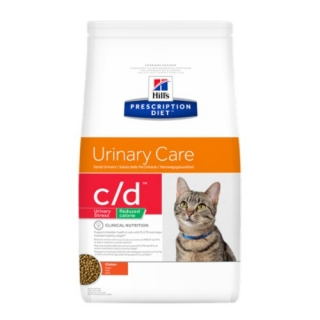 Hills Feline C/D Urinary Stress Reduced Calorie 4kg