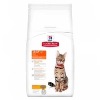 Hill´s Feline Adult Optimal Care Chicken 10kg
