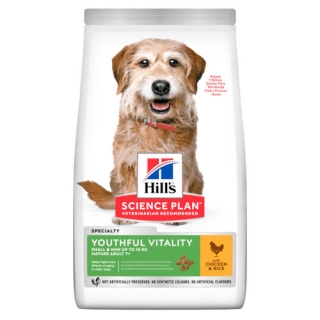 Hill's Ca SP Mature Adult 7+ Youthfull Vitality Small&Mini Chicken 1,5kg