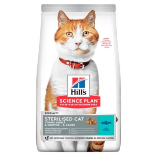 Hill's Fe SP Young Adult Sterilised Cat Tuna 10kg