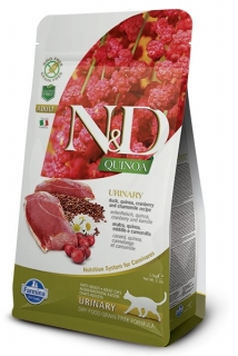 N&D GF Quinoa CAT Urinary Duck & Cranberry 5kg