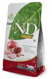 N&D Prime Cat Adult Chicken and Pomegranate 10kg