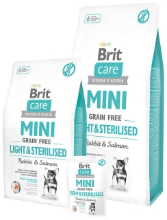Brit Care Mini Light & Sterilised 2kg