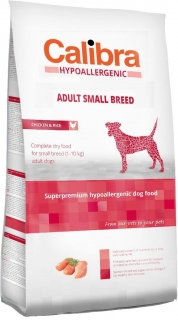 Calibra Dog HA Adult Small Breed Chicken 2kg - akce 3+1 ZDARMA