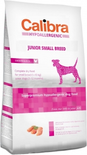 Calibra Dog HA Junior Small Breed Chicken 2kg - akce 3+1 ZDARMA