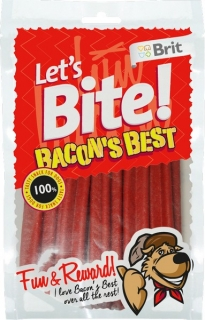 Brit Let's Bite Bacon's Best 105g