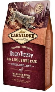 Carnilove Cat LB Duck & Turkey Muscles, Bones, Joints 2kg