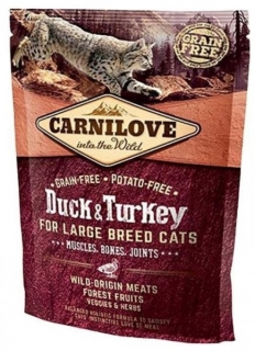 Carnilove Cat LB Duck & Turkey Muscles, Bones, Joints 400g