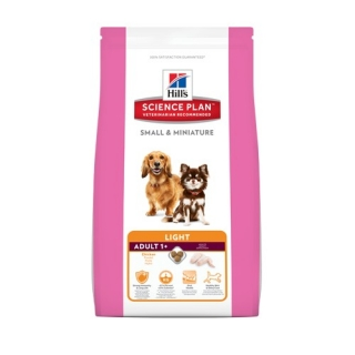 Hills Canine Dry Adult Light Small Miniature 1,4kg