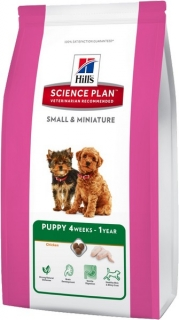 Hills Canine Dry Puppy Small Miniature 1,5kg