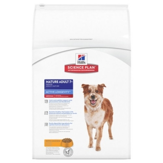 Hill's Canine Mature Adult 7+ Active Longevity Medium Chicken 12kg