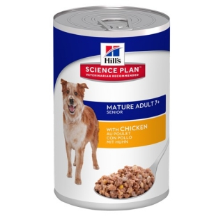 Hill's Canine Mature Adult 7+ Savoury Chicken konzerva 370g