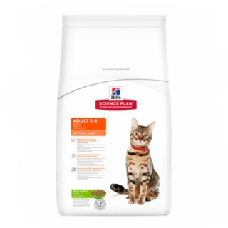Hill´s Feline Adult Optimal Care Rabbit 10kg