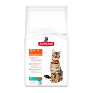 Hill´s Feline Adult Optimal Care Tuna 10kg